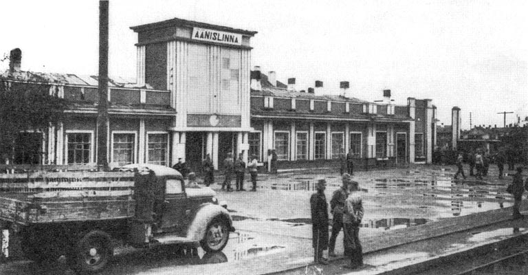 1942. The railway station