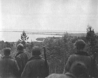 October 1, 1941. Onego Lake
