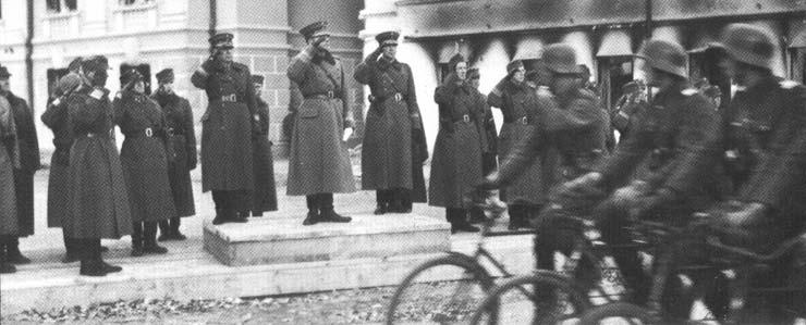 12 октября 1941 года. Парад
