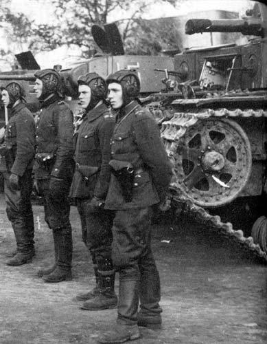 12 октября 1941 года. Танкисты Лагуса