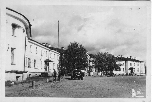 Early 1940's. The main square