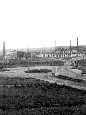 Early 1940's. The factory