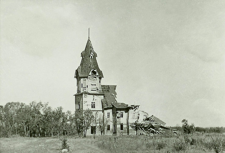 September 1941. The lutheran church in Stary Beloostrov