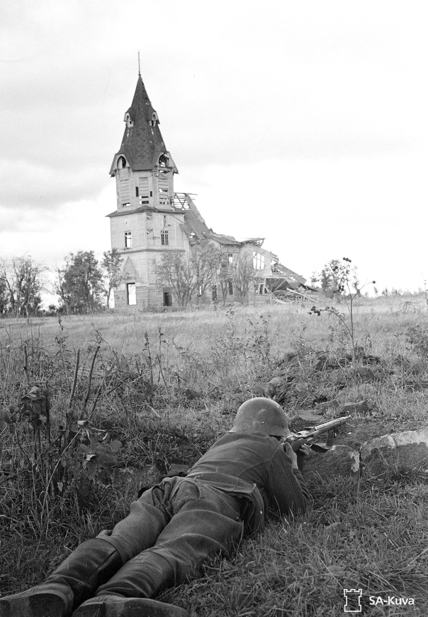 September 19, 1941. The lutheran church in Stary Beloostrov