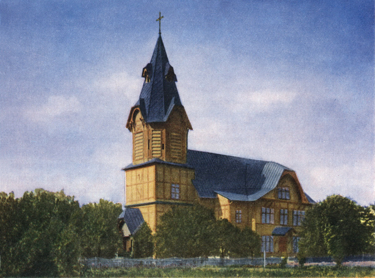 1910's. The lutheran church in Stary Beloostrov