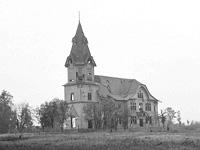 Syyskuu 1941. Valkeasaareen luterilainen kirkko