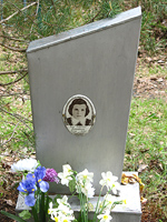 June 4, 2006. Grave in the Besovets Cemetery
