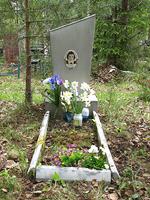 4. kesäkuuta 2006. Hauta Besovetsin kalmistossa