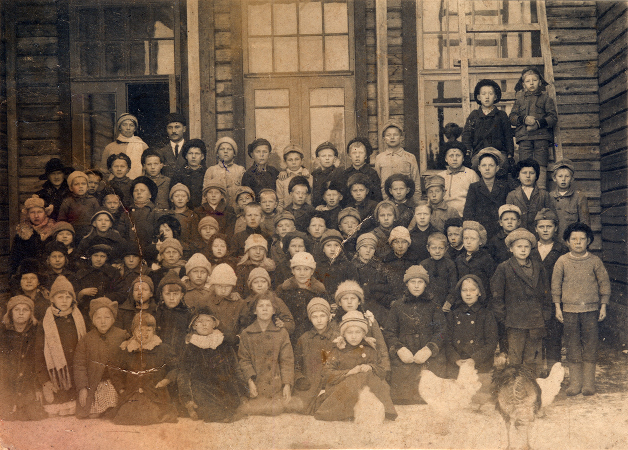 January 1921. Kellomäki, Elementary School