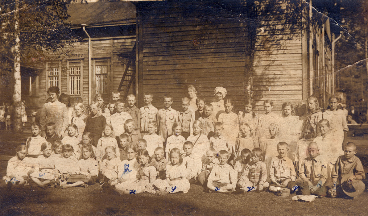 September 1921. Kellomäki, Elementary School