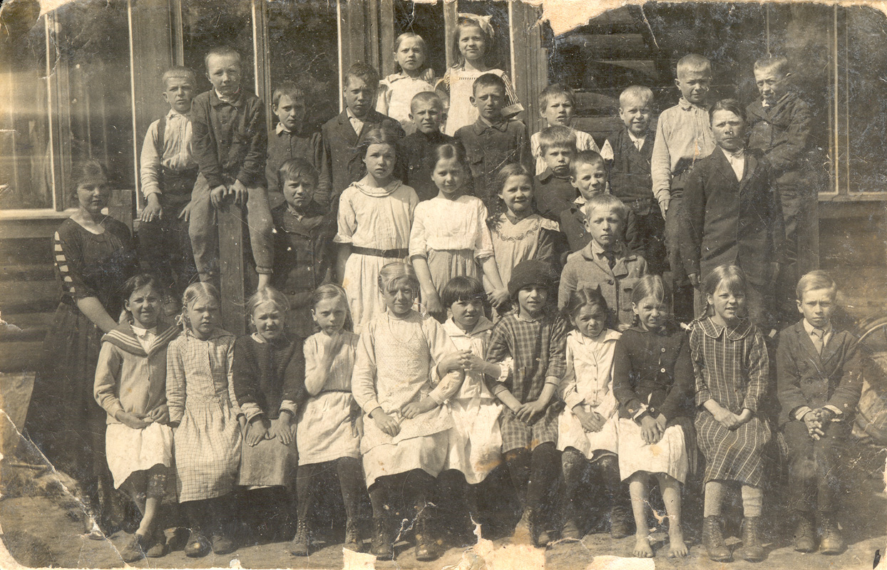 June 6, 1922. Kellomäki, Elementary School