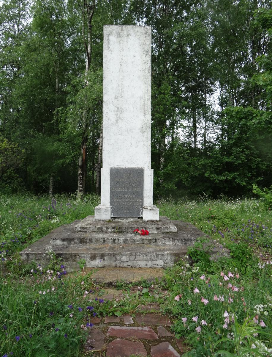11 июня 2013 года. Братская могила красных в Олонце