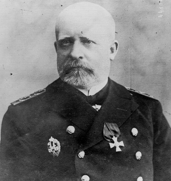 Early 1910's. Admiral Nikolay Ottovitch von Essen