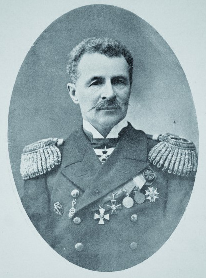 Early 1910's. Admiral Robert Nikolayevitch Viren