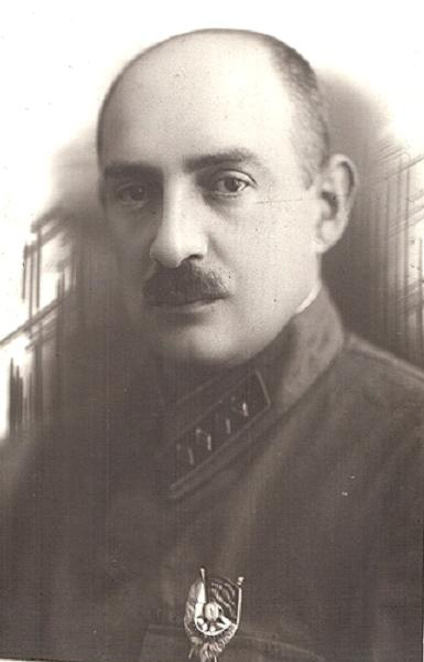 Late 1920's. Deputy Head of the Special Departments of the OGPU Lev Borisovitch Zalin (Zalman Markovitch Levi)