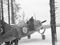 February 1942. BW-372 fighter