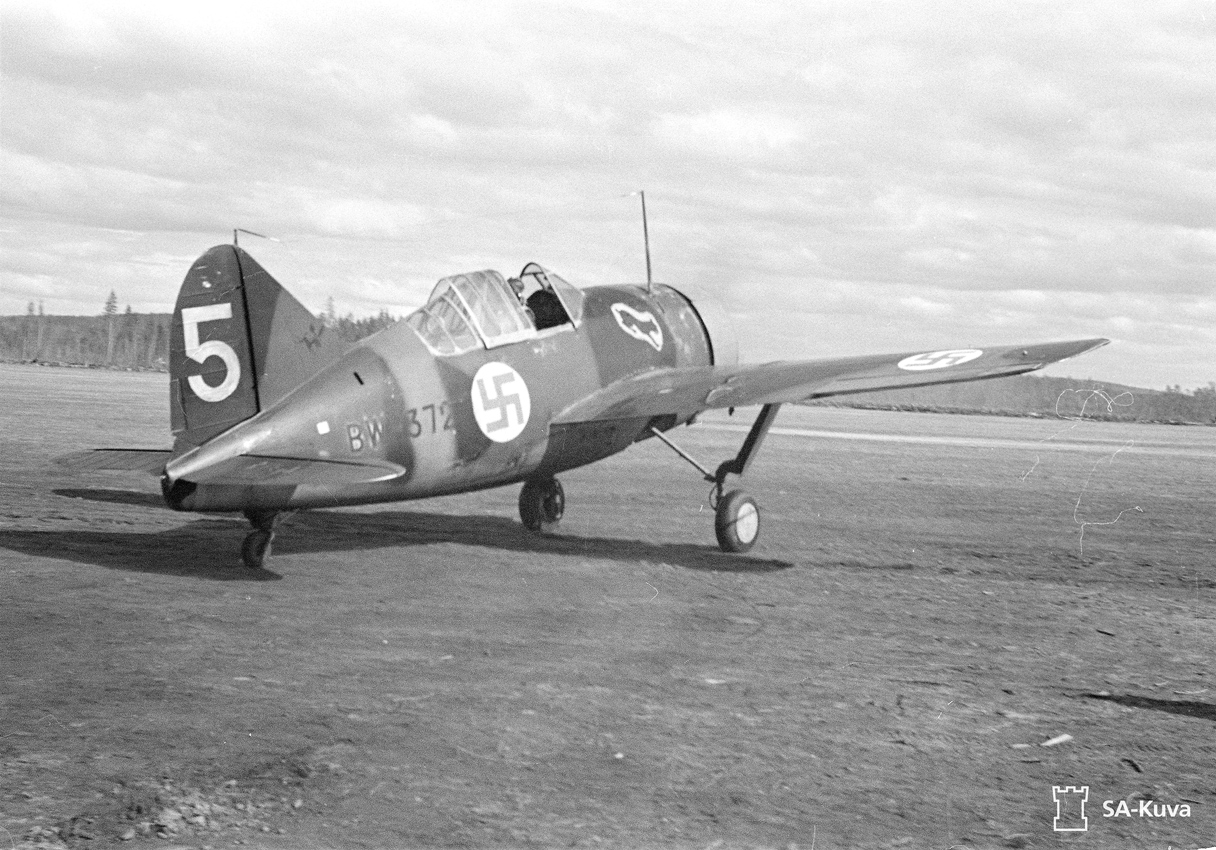 May 25, 1942. BW-372 fighter