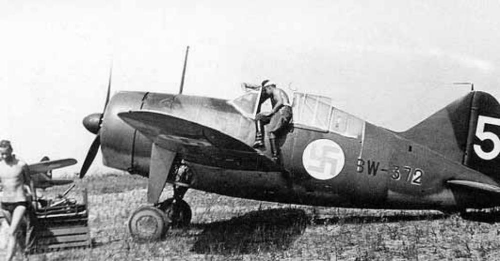Early 1940's. BW-372 fighter