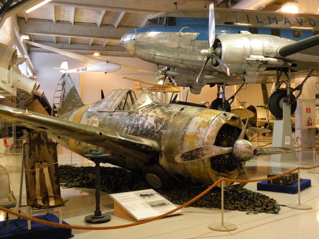November 16, 2009. Aviation Museum of Central Finland