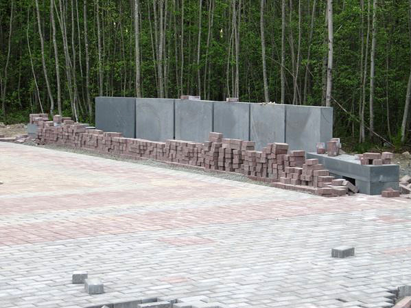 May 23, 2012. A monument at the crash site