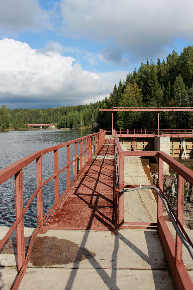 September 2014. Hämekoski hydroelectric power plant