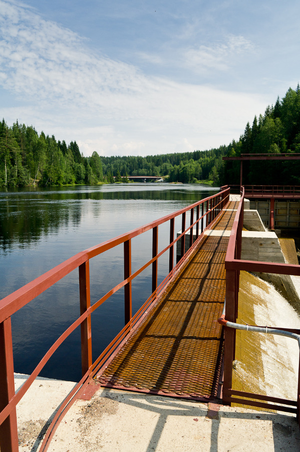July 12, 2011. Hämekoski hydroelectric power plant