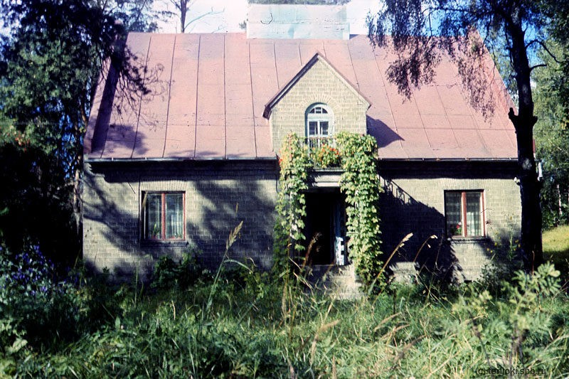 Mid 1980's. Läskelä. Former residence of the managing director