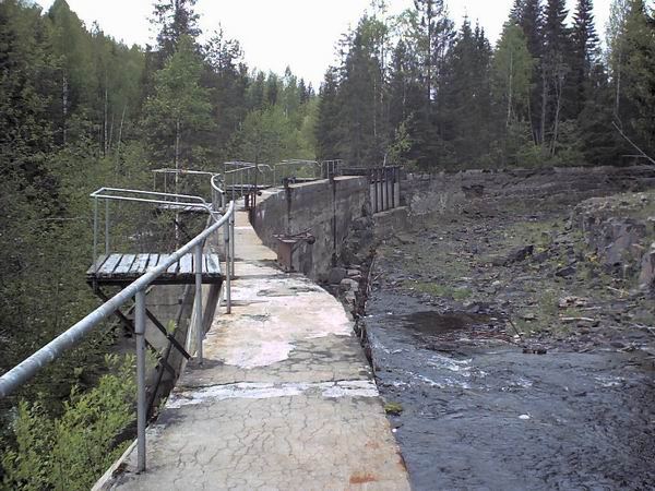 June 1, 2003. Hämekoski hydroelectric power plant