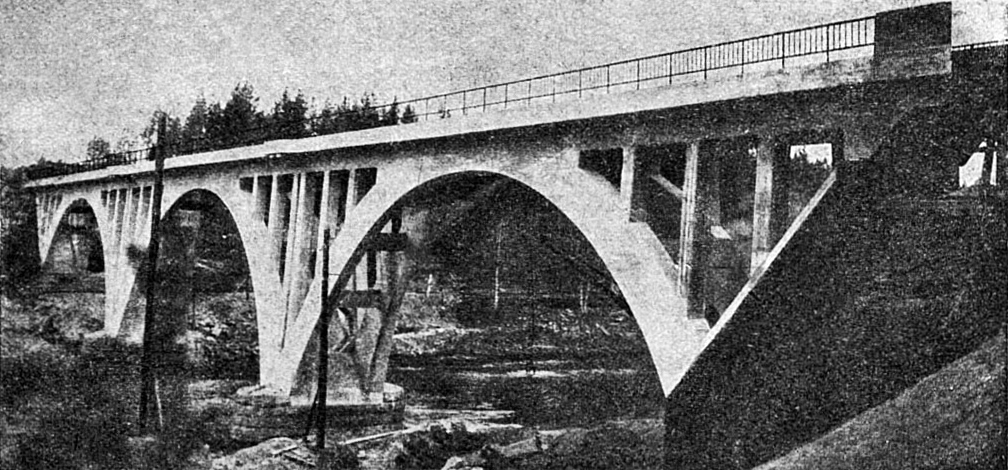 1919. Railway Bridge across the Jänisjoki River