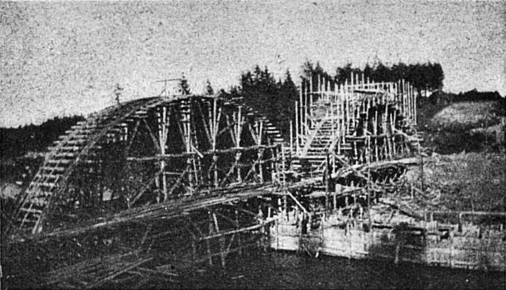 1919. Railway Bridge across the Jänisjoki River