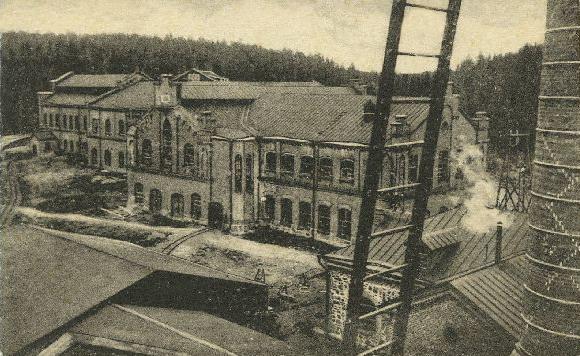 Early 1910's. Hämekoski. Factory