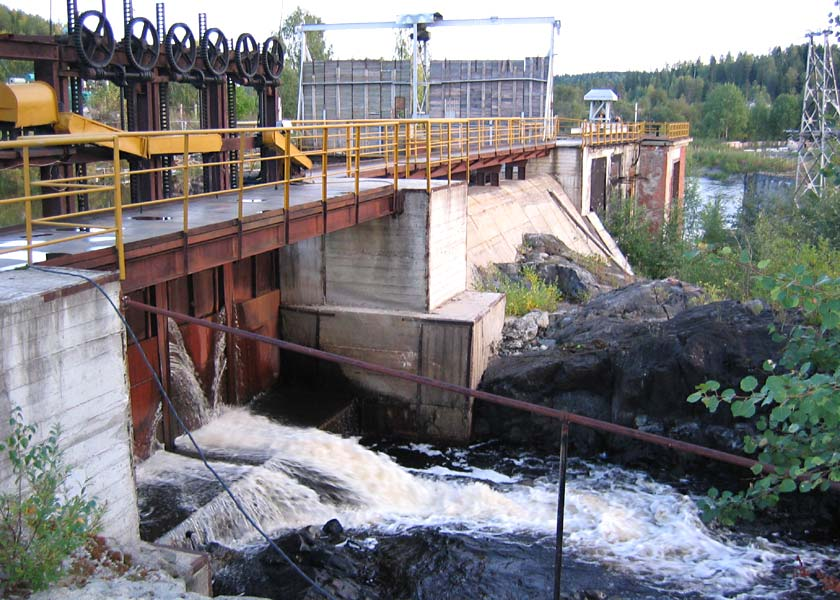 September 11, 2005. Hämekoski hydroelectric power plant
