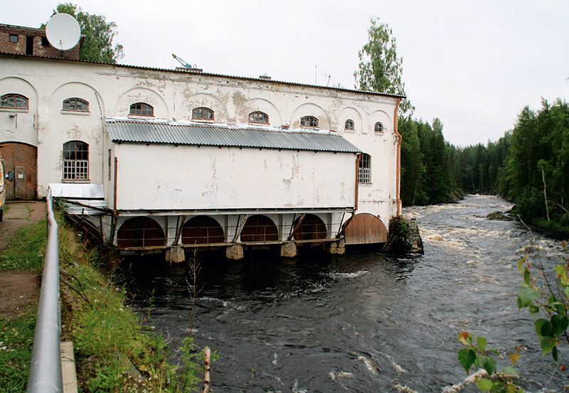 Late 2000's. Hämekoski hydroelectric power plant