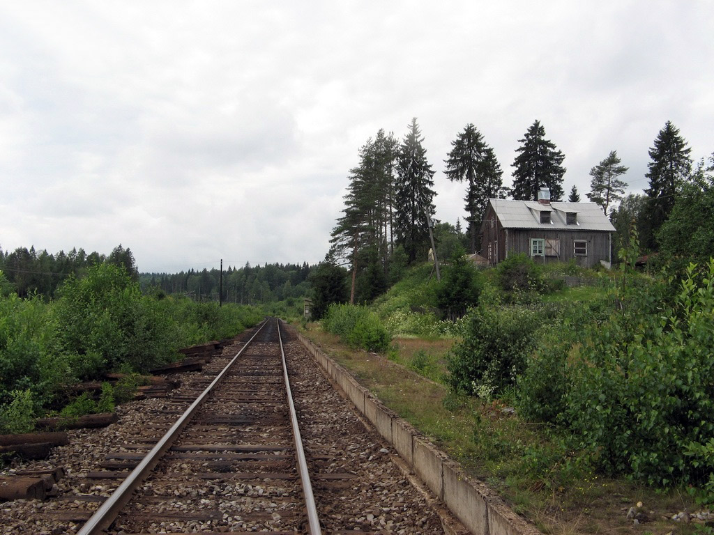 July 22, 2008. Hämekoski Railway Station