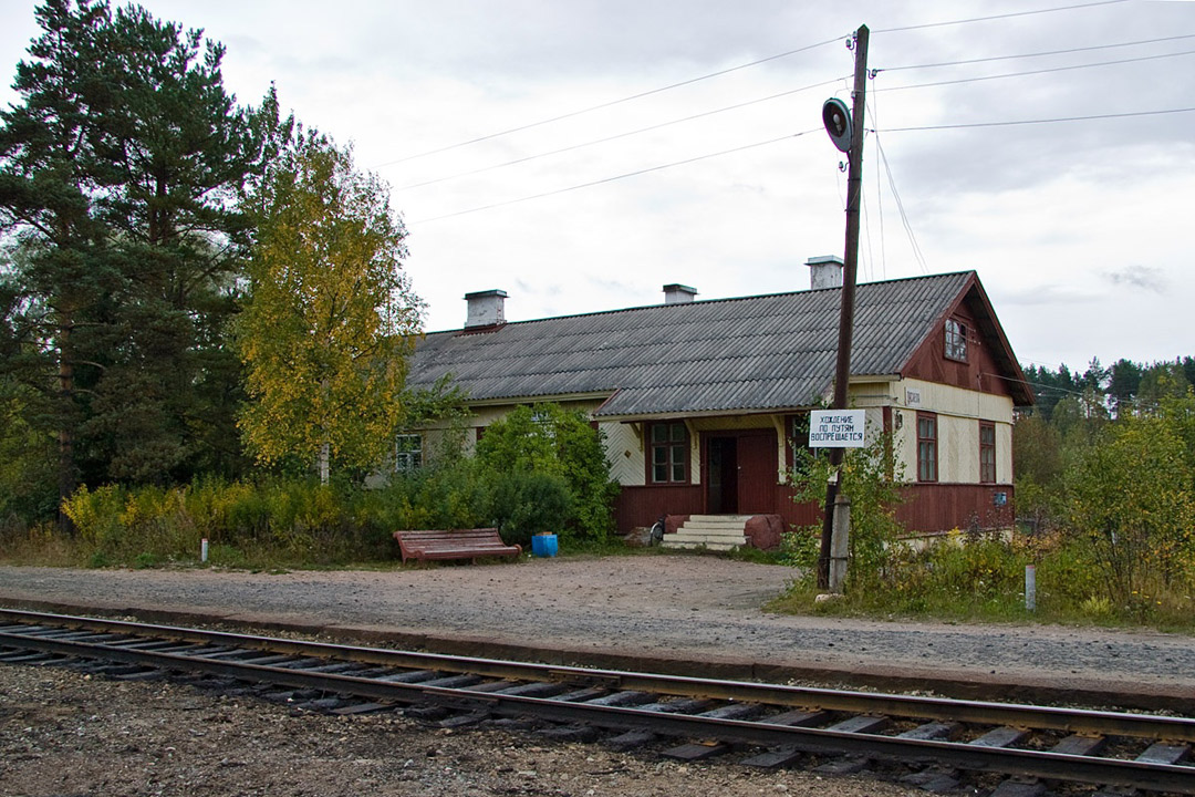 September 11, 2010. Läskelä Railway Station