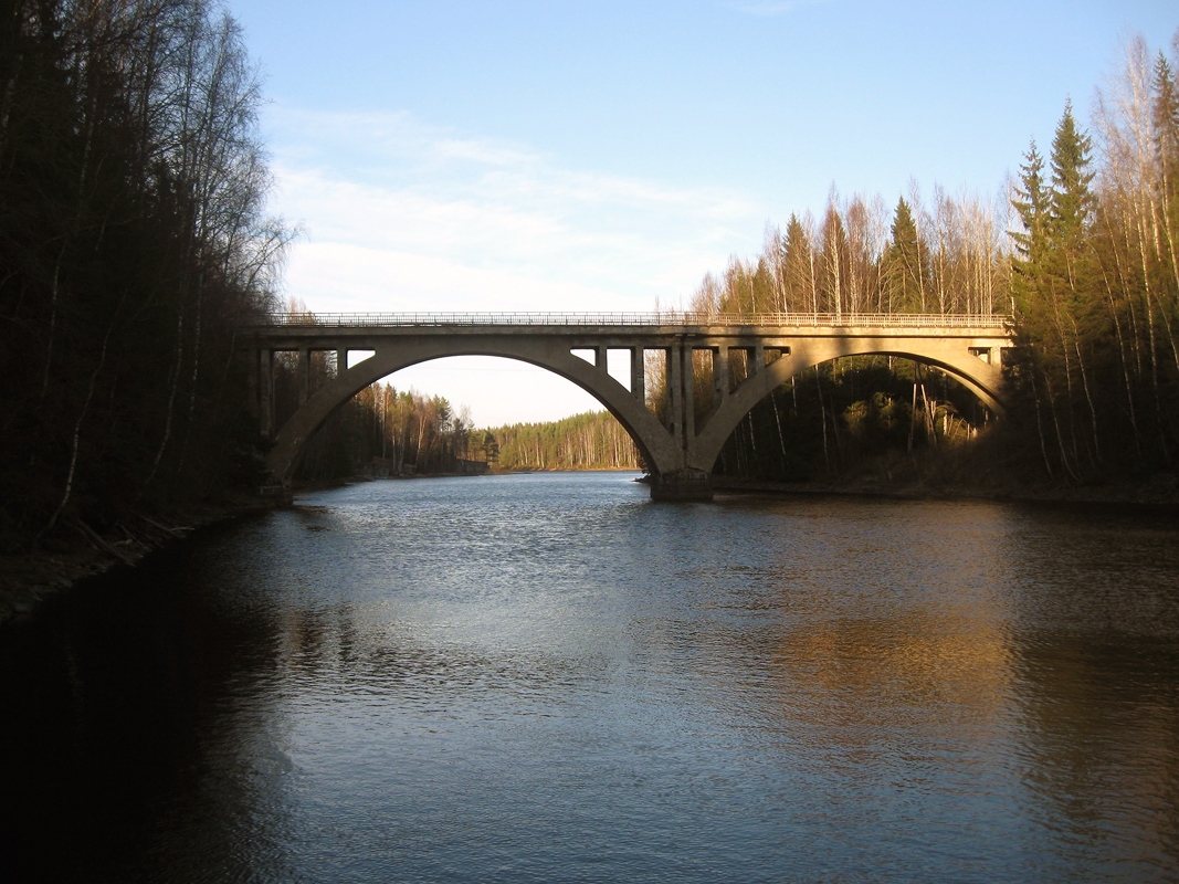2012. Railway Bridge across the Jänisjoki River