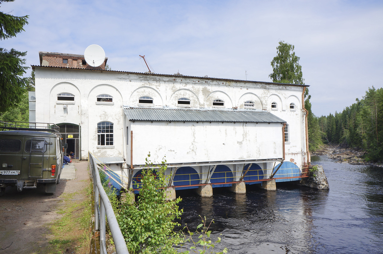 July 5, 2013. Hämekoski hydroelectric power plant