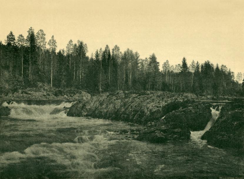 1890's. Jananuskoski Rapids, later – Hämekoski Rapids