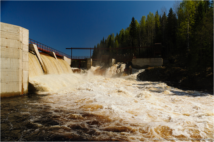 May 2012. Hämekoski hydroelectric power plant
