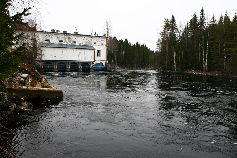 May 11, 2013. Hämekoski hydroelectric power plant