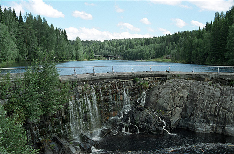 August 10, 2005. Hämekoski hydroelectric power plant