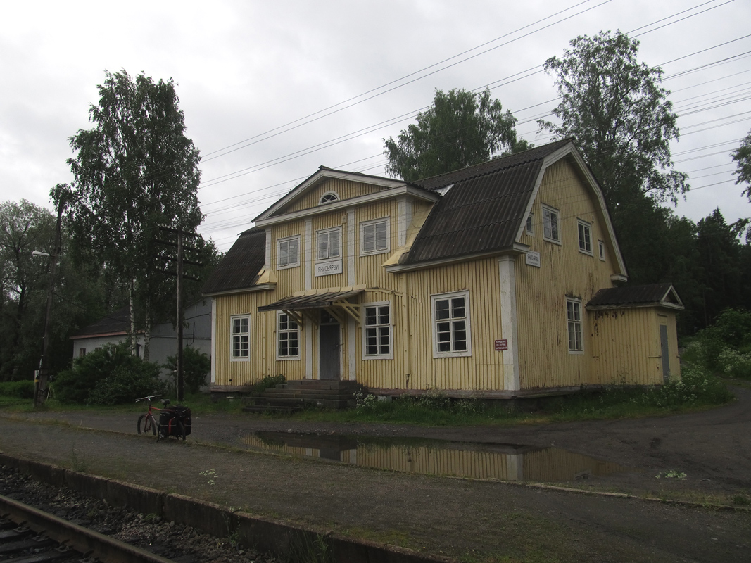 June 15, 2013. Janisjärvi Railway Station