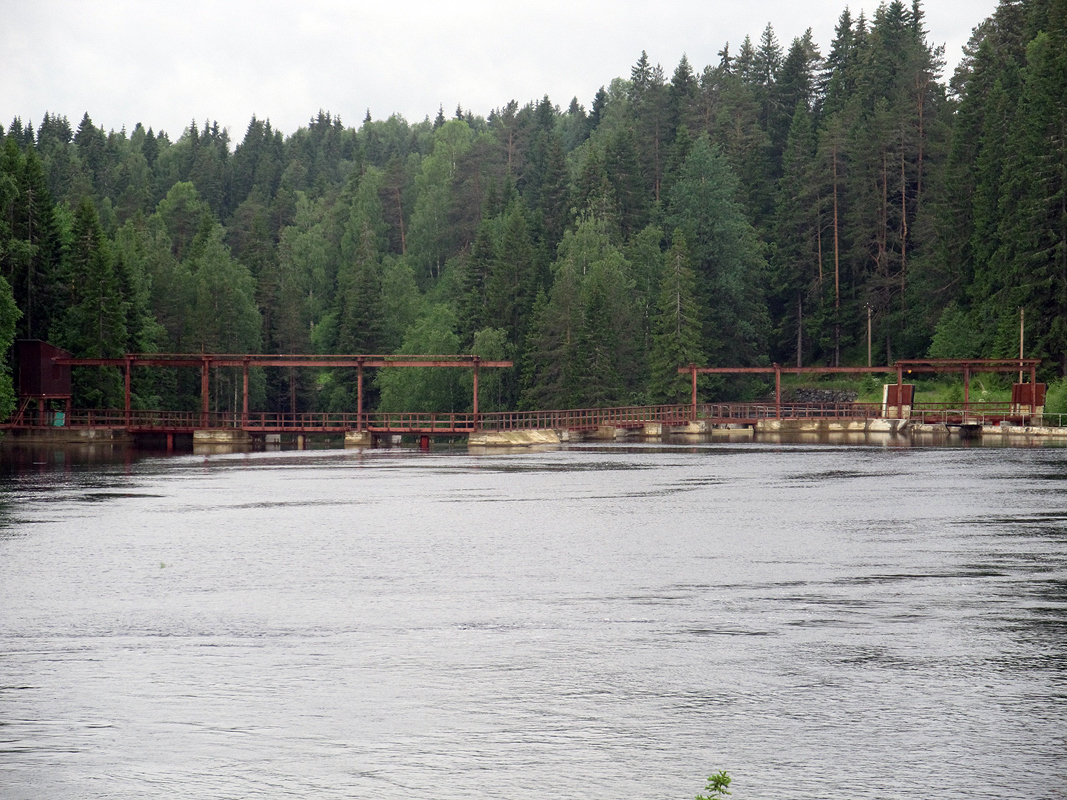 June 15, 2013. Hämekoski hydroelectric power plant
