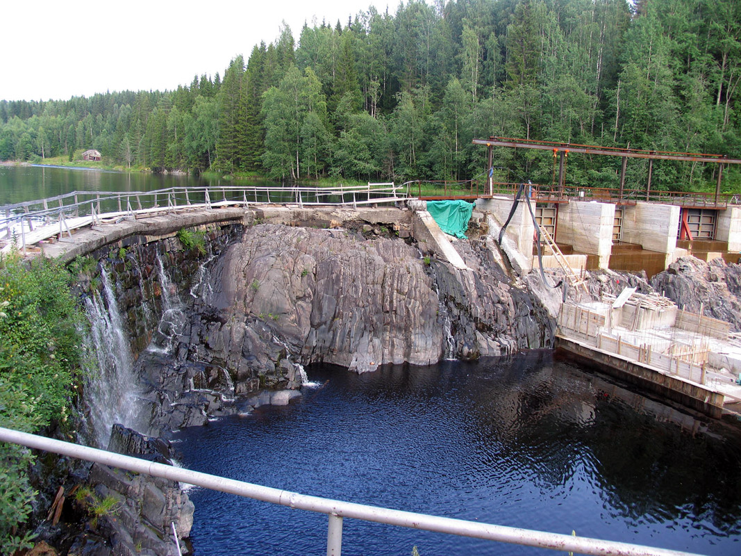 July 26, 2009. Hämekoski hydroelectric power plant