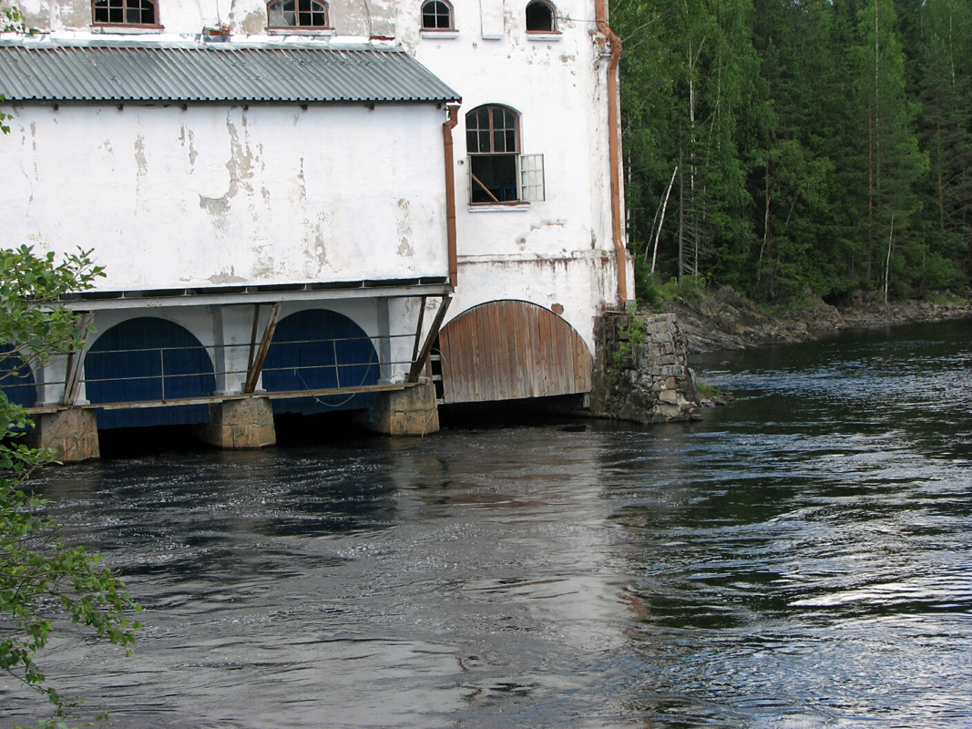 July 21, 2010. Hämekoski hydroelectric power plant