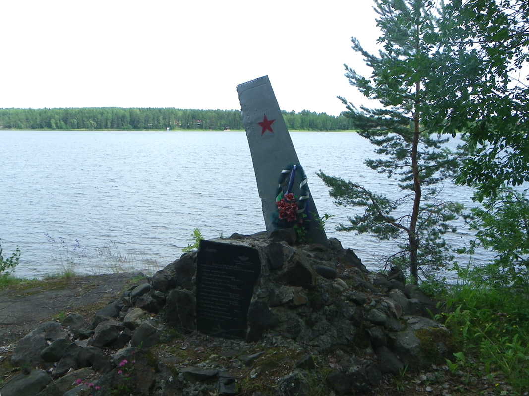 July 26, 2015. New monument at the crash site