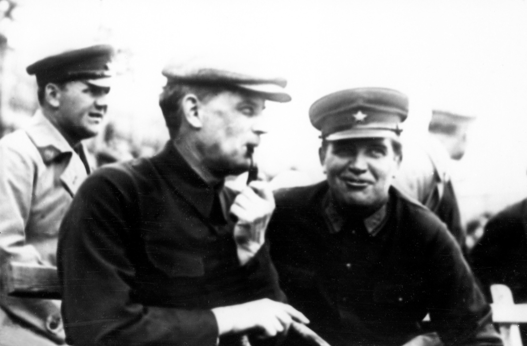 April 1, 1932. Edvard Gylling and Eyolf Igneus-Mattson