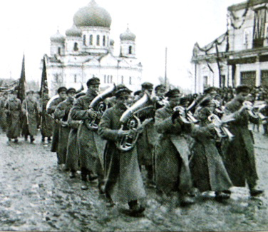 November 7, 1934. Parade, devoted to the 17-th anniversary of Great October Socialist Revolution
