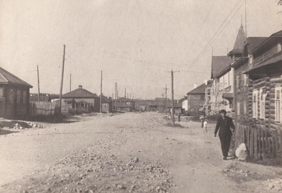 1946. Petroskoi. Kareldrev -trustin rakennus