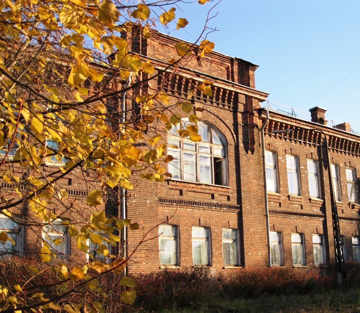 16 октября 2013 года. Петрозаводск. Здание учительской семинарии